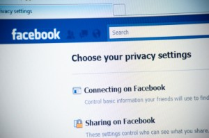 Facebook privacy page