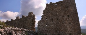 cracked fortress wall