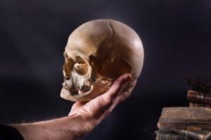 hamlet yorick's skull