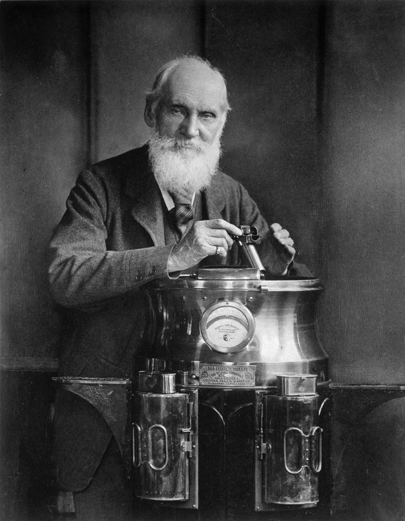 Lord Kelvin and a Binnacle