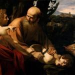 Sacrifice of Isaac. Caravaggio